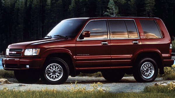 Isuzu Trooper 2 (1998-2002) FL