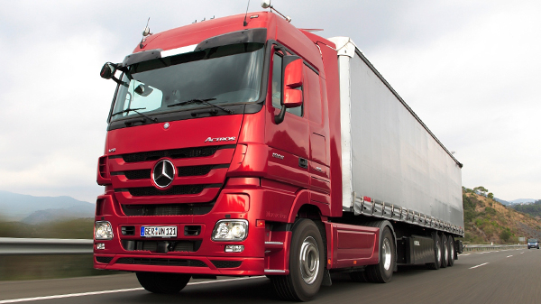 Mercedes Actros MP3 (2009-2011)